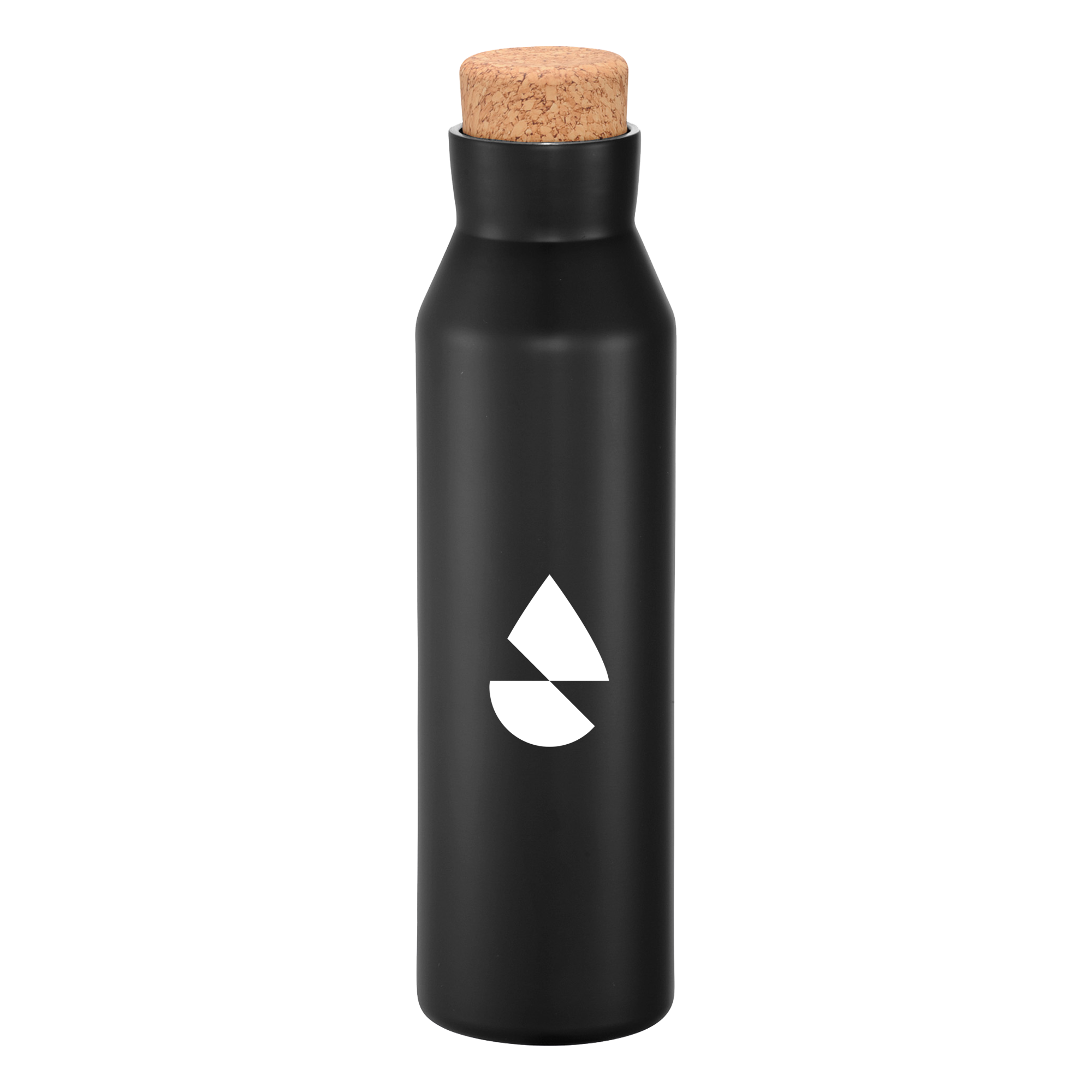 black vacuum insulated bottle